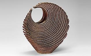 Tsumiage Kaki (Vase à fleurs) intitulé