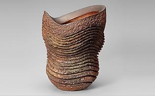 Tsumiage Kaki (Vase à fleurs)